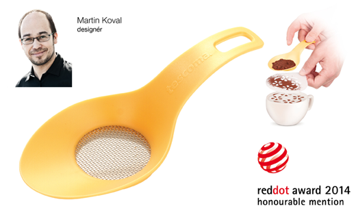 Red Dot: Honourable Mention 2014 pro zdobicí sítko DELÍCIA od designéra Martina Kovala